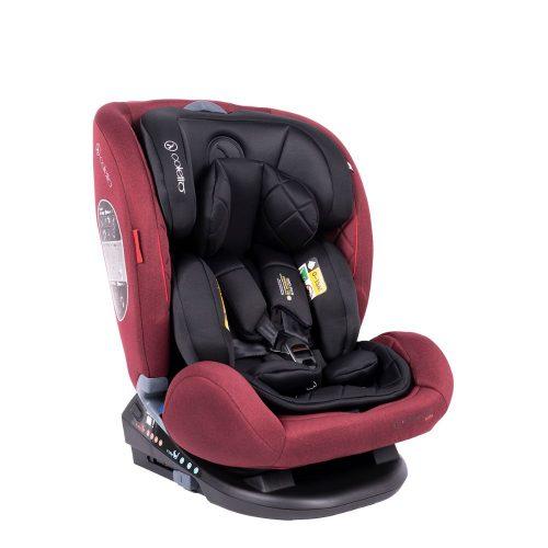 Coletto fotelik samochodowy Cascade 0-36 kg z funkcją obrotu 360 stopni kolor Red