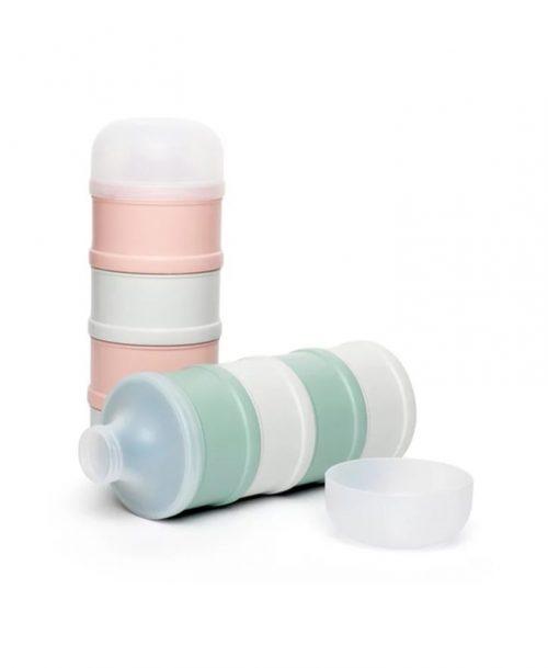 Pojemnik na mleko w proszku różowy Hygge Baby Suavinex