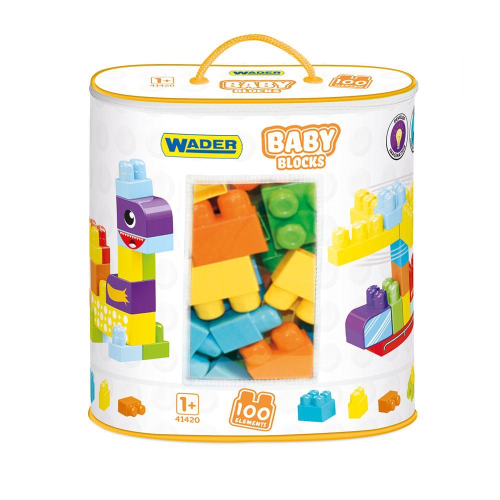 Wader klocki torba 100 szt Baby Blocks 41420