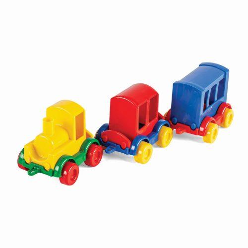 Wader zestaw pociagów 3 szt Kid Cars Train 60020