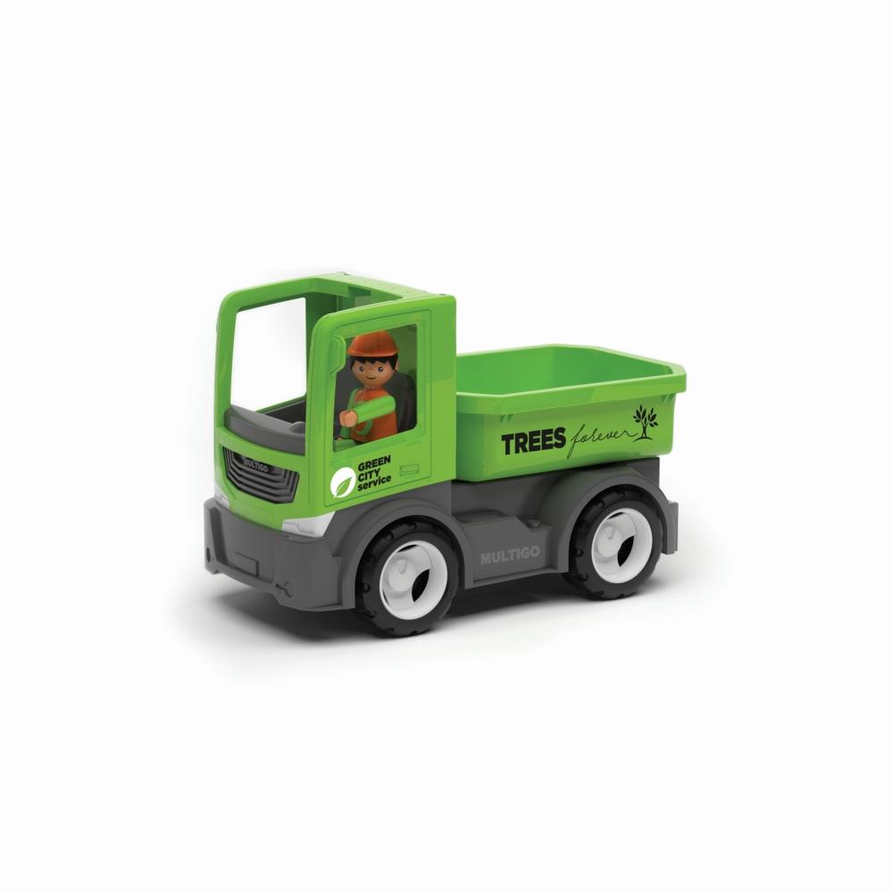 Wader Multigo Single City ciężarówka z kierowcą wywrotka EF27287