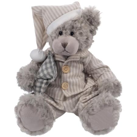 Pluszak zabawka maskotka dla dziecka Beppe Miś George szlafmyca 33cm/24