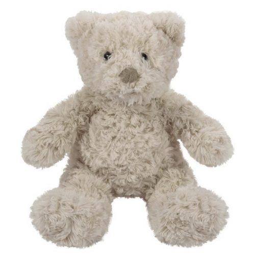 Pluszak zabawka maskotka dla dziecka BeppeMiś Charlie ecru 20cm/36