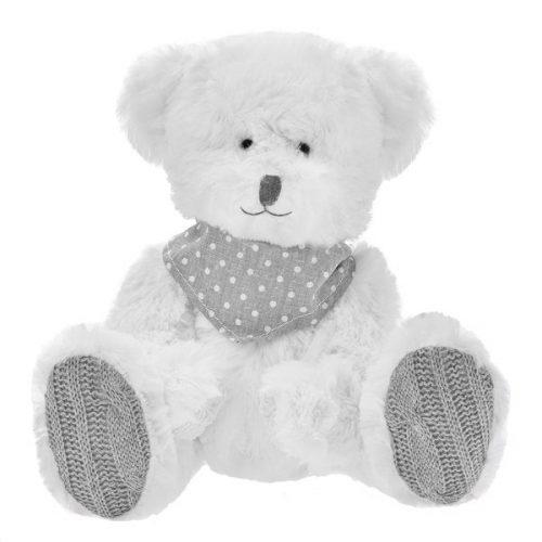 Pluszak zabawka maskotka dla dziecka Beppe Miś DAVID 20 cm z apaszką