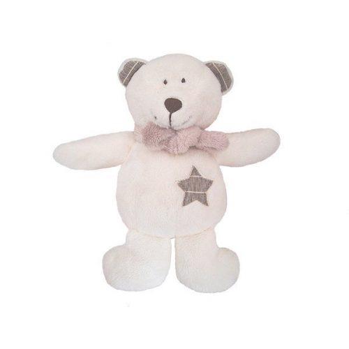 Pluszak zabawka maskotka dla dziecka Beppe Miś GULIANO 25 cm biały