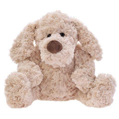 Pluszak zabawka maskotka dla dziecka Beppe Pies Quinto beżowy 25 cm