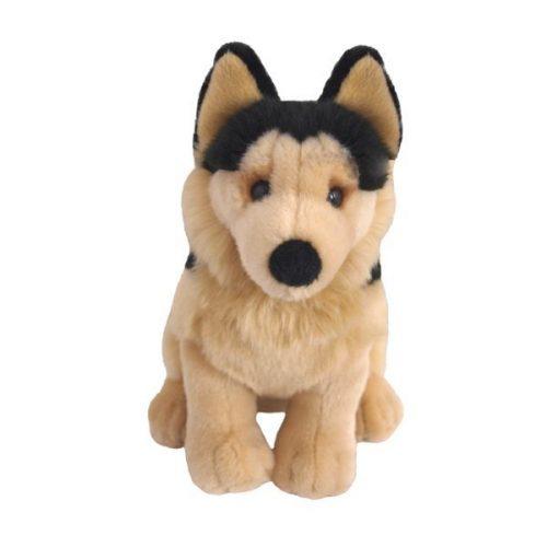 Pluszak zabawka maskotka dla dziecka BeppePies Owczarek niemiecki siedzący 20 cm