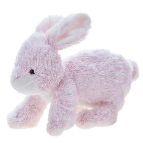 Pluszak zabawka maskotka dla dziecka Beppe Królik Kiki siedzący 26cm różowy