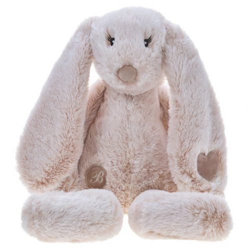 Pluszak zabawka maskotka dla dziecka Beppe Króliczek Missimo beżowy 34 cm
