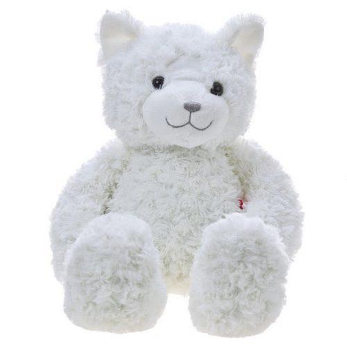 Pluszak zabawka maskotka dla dziecka Beppe Kotek DIEGO kremowy 27 cm