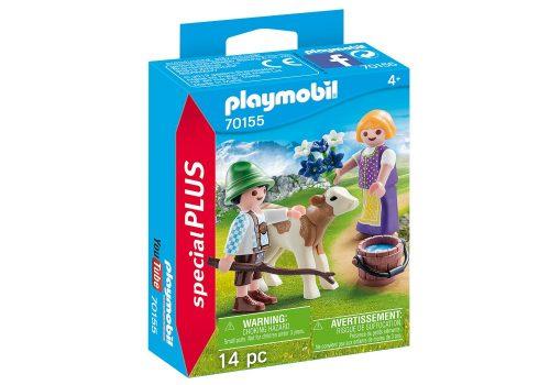 Playmobil 70155 figurka dzieciaki z cielaczkiem
