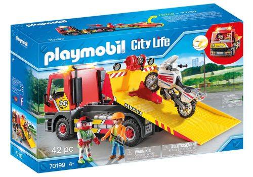 Pomoc drogowa Playmobil 70199 samochód pomocy City Life