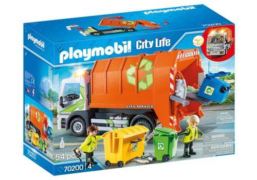 Śmieciarka Playmobil 70200 dżwiek i światło 32cm