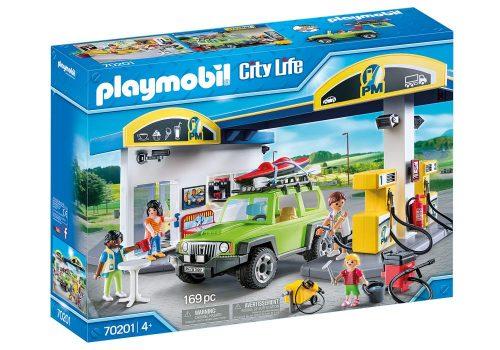 Stacja benzynowa Playmobil 70201 duży zestaw