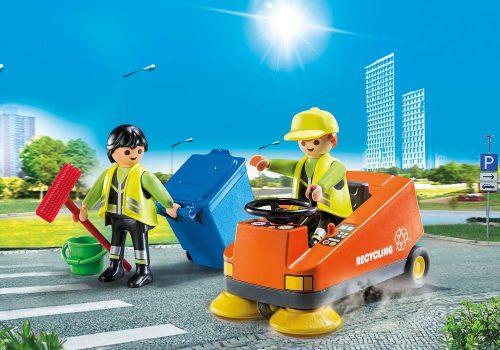 Playmobil zamiatarka uliczna 70203 pojazd