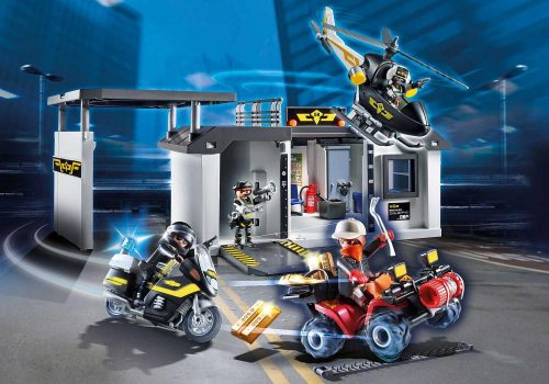 Playmobil policja 70338 Centrala jednostki specyjalnej City Action