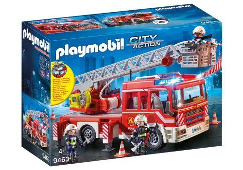 Samochód straży pożarnej z drabiną Playmobil 9463 39cm dźwiek i światło