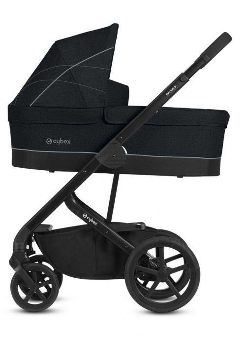 Gondola do wózka Cybex Balios S kolor Lavastone Black