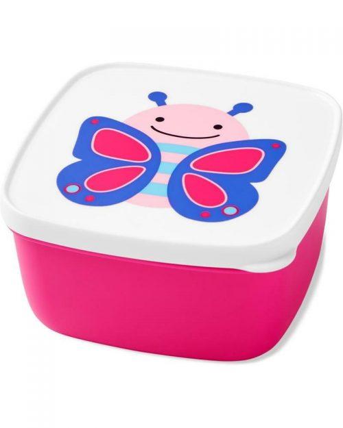 Pudełko śniadaniowe Lunchbox skip hop motyl