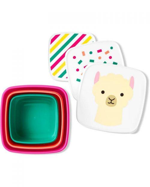 Pudełko śniadaniowe Lunchbox skip hop lamal