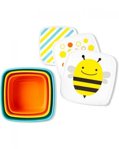 Pudełko śniadaniowe Lunchbox skip hop pszczoła