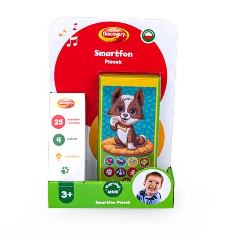 Smartfonik smartfon dla dziecka Dumel DD80067 3+