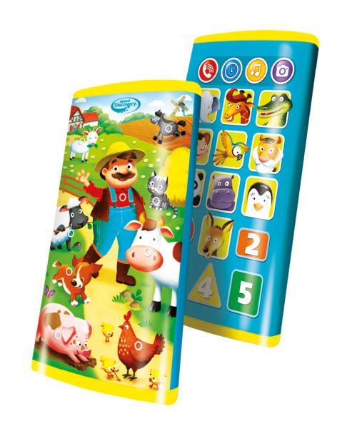 Smaftfon dumel DD80081 świat zwierząt zabawka edukacyjna 3+