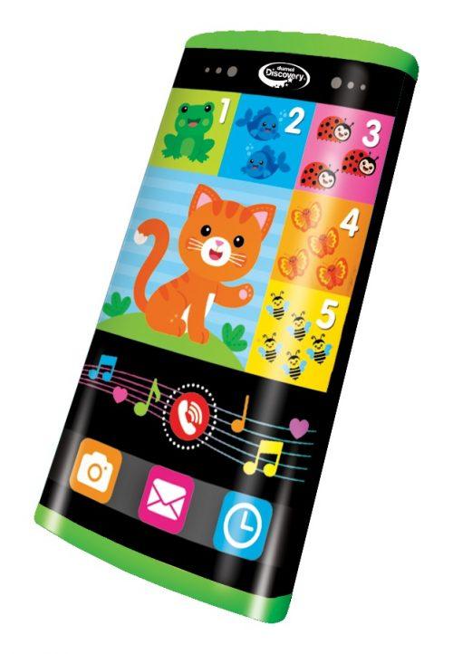 Dumel DD80098 smartfon dla dziecka zabawka językowa edykakcyjna z kotkiem 3+