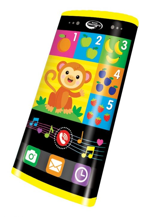 Nauka języka dla dzieci zxabawka Dumel smartfon DD80104 3+