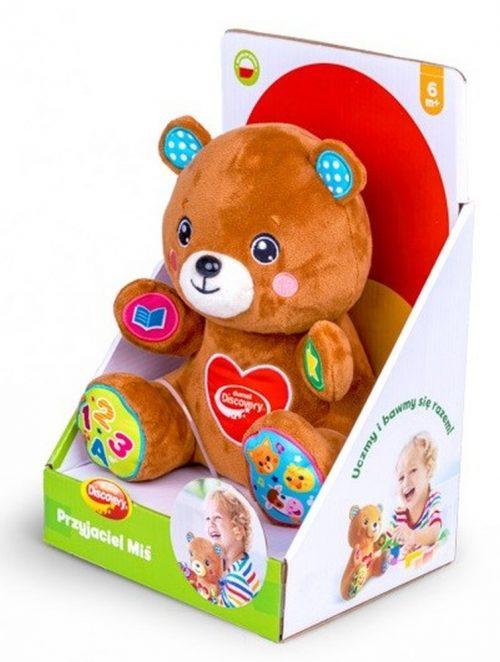 Zabawka inteaktywna miś przyjaciel Dumnel DD80050 6m+