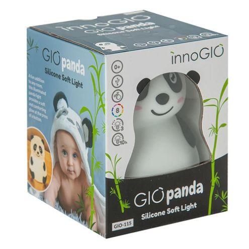 Nocna silikonowa lampka zmieniająca kolor Panda Gio-115 Innogio