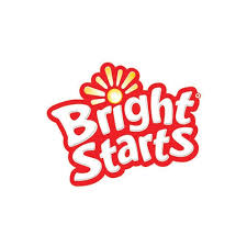 Podwójna grzechotka plastikowa z koralikami Bright Starts 3m+