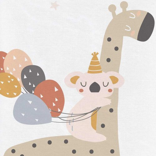 Turystyczna mata do przewijania niemowlaka 60x40 Ceba Baby Giraffe