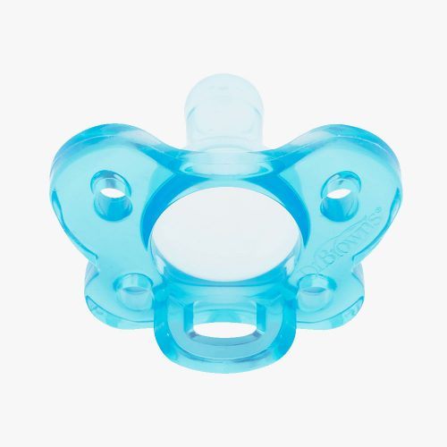 Silikonowy smoczek Dr Browns 0+ standardowy smoczek niebieski