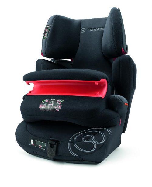 Fotelik samochodowy Concord Transformer Pro 9-36 kg - foteliki z osłoną tułowia kolor Midnight Black