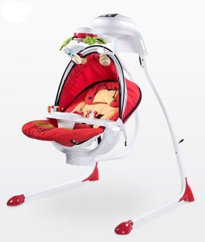 huśtawka dla dziecka od 0-9 kg z zabawkami
