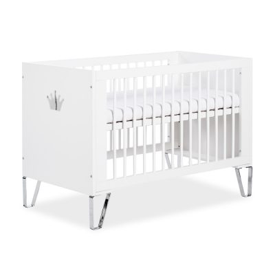 łóżeczko dziecięce białe łóżeczko 120x60