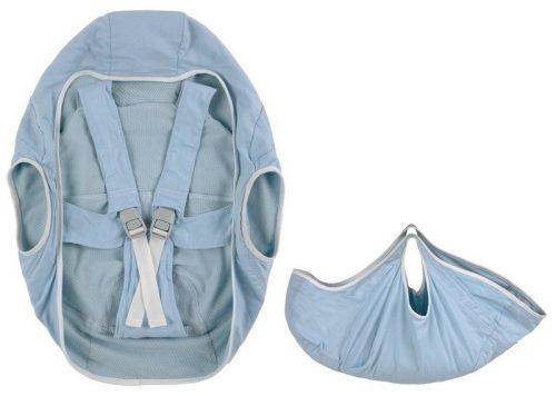 Nosidło do przenoszenia noworodka BeSafe IZI Transfer kolor Niebieski
