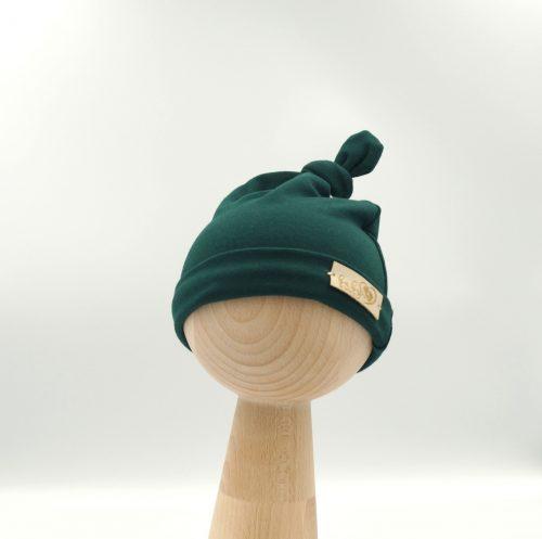 Czapka Niemowlęca Smerfetka Zielona 0-3 mc