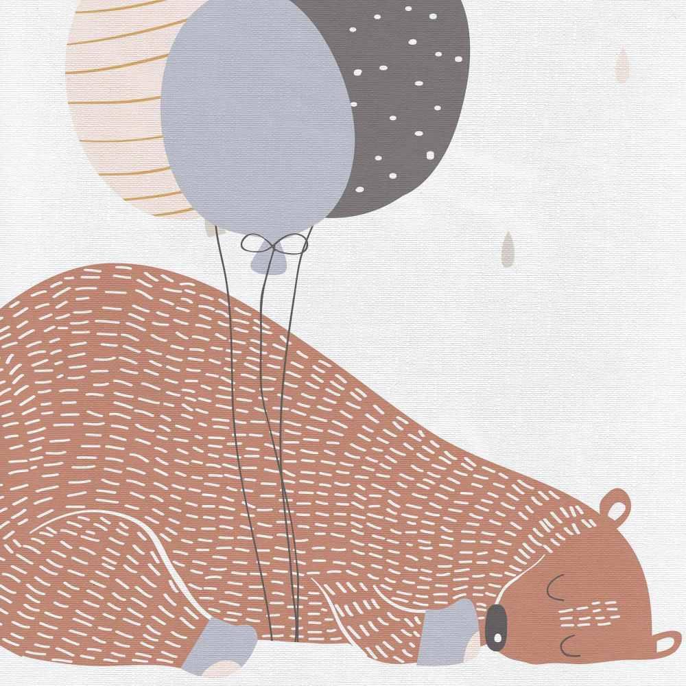 Przewijak na łóżeczko120x60 usztywniana nadstawka Ceba Baby Big Bear