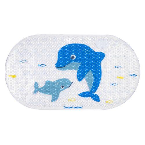 Mata kąpielowa Delfin niebieski Canpol Babies 69x38 cm