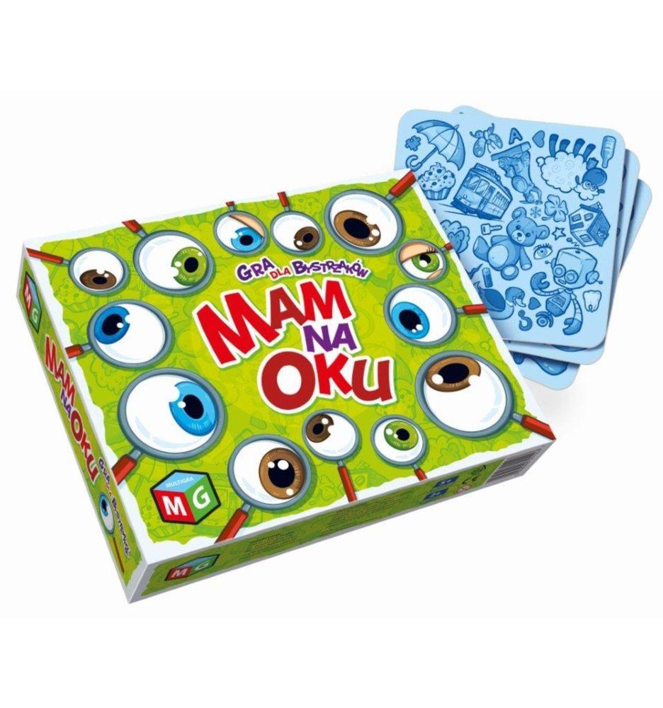 Multigra gra na spostrzegawczość mam na oku gra rodzinna 3+