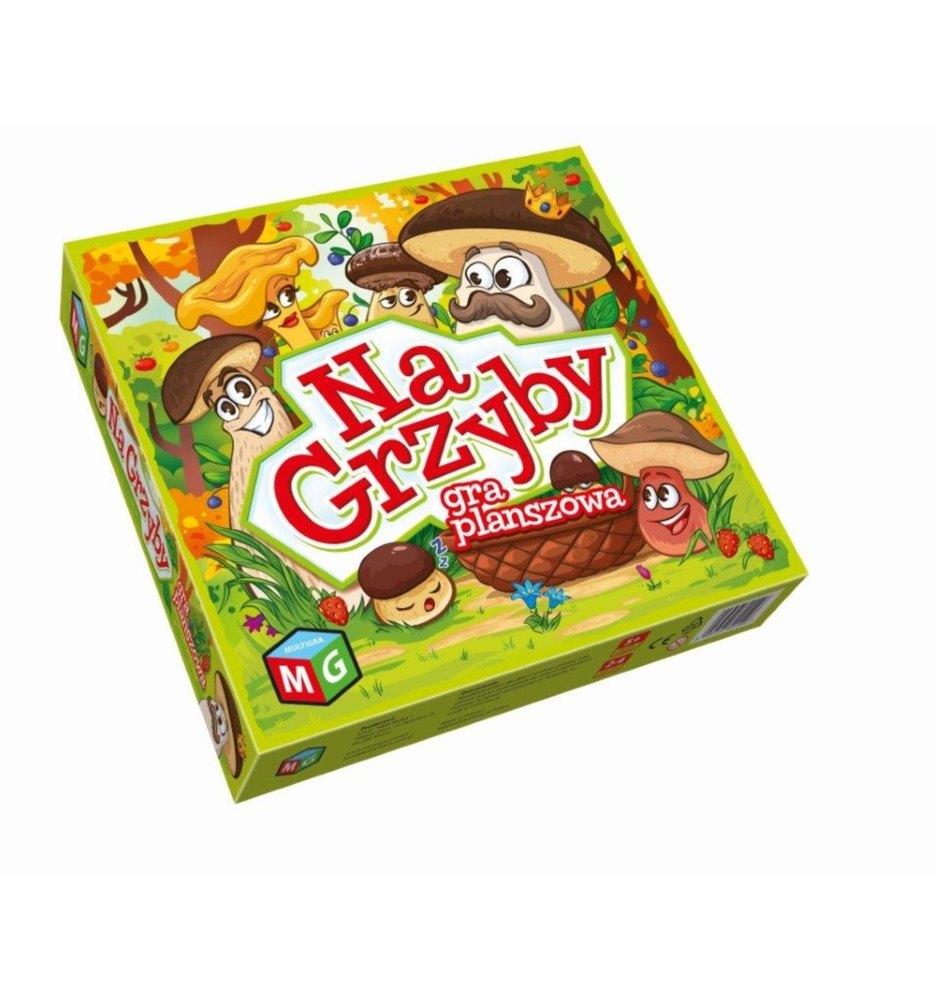 Gra planszowa dla dzieci na grzyby 4+