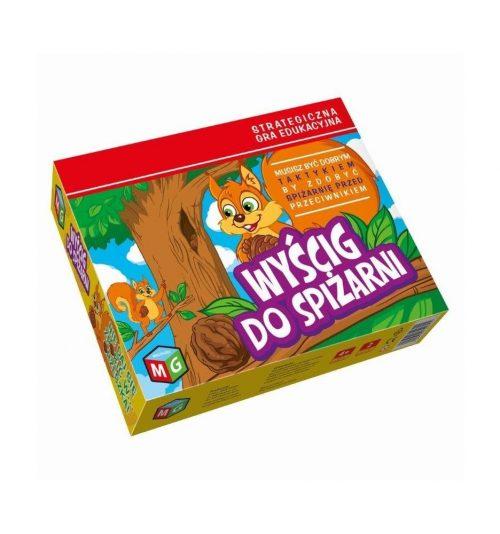 Strategiczna gra dla dzieci 4+ multigra wyścig do spiżarni