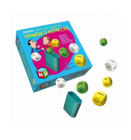 Kostki do zabawy opowiem ci historyjkę Multigra 8+