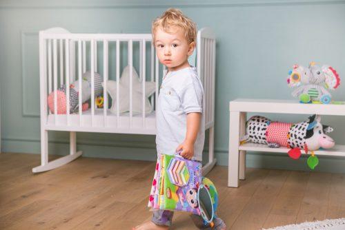 Jolly baby przytulanka książeczka dla niemowląt małpka 0+ JB80459