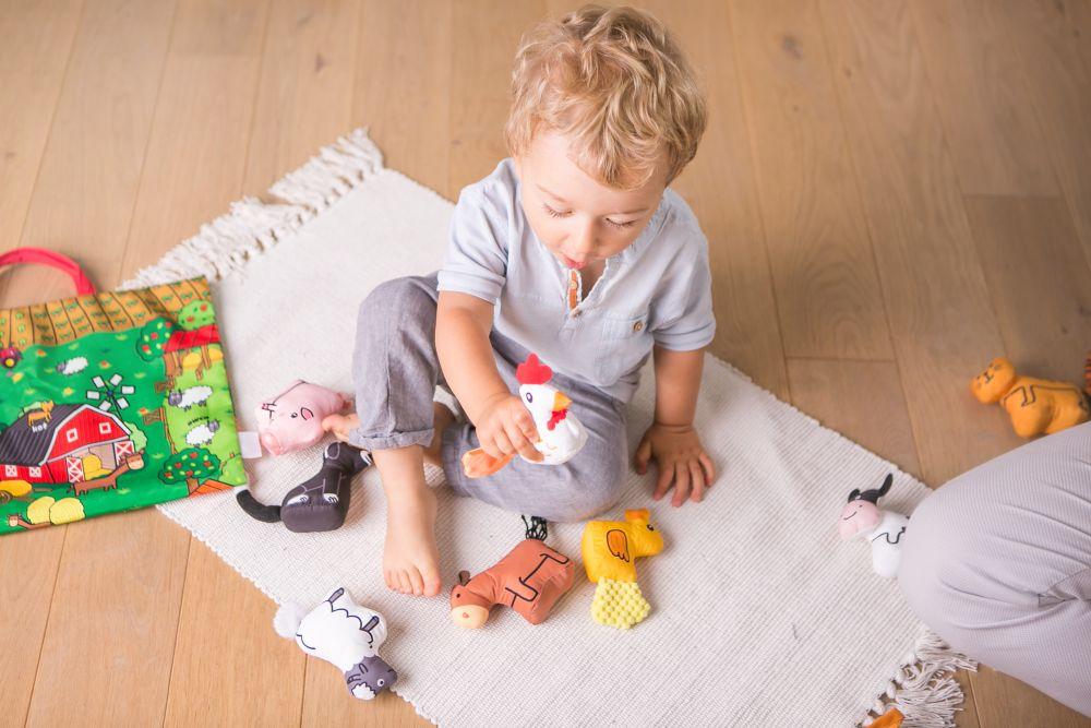 Jolly baby przytulanka książeczka dla niemowląt sówka 0+ JB80460