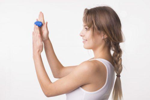 Fasola sensoryczna zabawka do rehabilitacji 7,4cm Tullo zielona