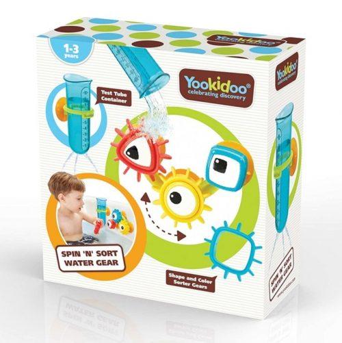 Yookidoo zabawka do kąpieli trybiki 1-3