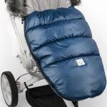 Śpiworek do wózka niebieski